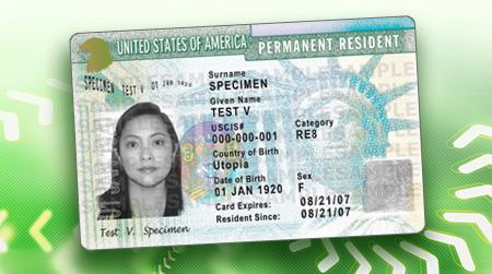 アメリカ グリーン カード